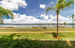 SCES Trecho 4 Asa Sul Brasília Apartamento frontal lago! Espetacular Brisas do Lago   Camarote frontal lago