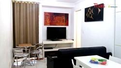Apartamento à venda CA 05   CA 05, Edificio Firenze, 01 suíte, MOBILIADO, 01 vaga de garagem coberta
