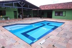 SHIN QI 7 Conjunto 12 Lago Norte Brasília   Casa com 4 dormitórios à venda, 336m² , área de lazer, terreno VAZADO