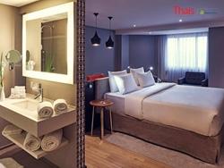 SHN Quadra 05 Bloco G Asa Norte Brasília   Flat com 01 banheiro, quarto no Mercure Hotel à venda, Asa Norte - Brasília/DF