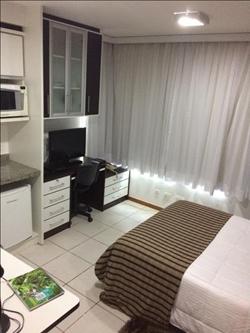 SHN Quadra 1 Bloco C Asa Norte Brasília   Flat com quarto no Biarritz à venda, Asa Norte - Brasília/DF