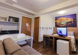 Hotel-Flat à venda Rua  36   RUA 36 SUL ÁGUAS CLARAS -  S4 MALL RESIDENCE   APART HOTEL - RENDA GARANTIDA R$ 1.300,00 ALUGADO!