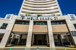 SHS Quadra 06 Conjunto A Bloco D Asa Sul Brasília   Flat mobiliado no Hotel Mélia Brasil 21 à venda - Asa Sul - Brasília/DF