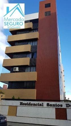 Apartamento para alugar Rua GERALDO COSTA   Apartamento à venda, 200 m² por R$ 750.000,00 - Manaíra - João Pessoa/PB