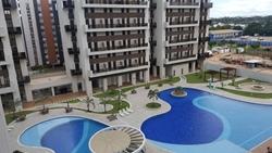 Hotel-Flat à venda SGCV Lote 10   Flats e Lofts no Park Sul com vaga de garagem
