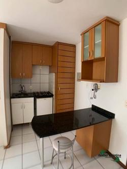 Kitnet à venda QMSW 5   Oportunidade, vendo linda, Kit Studio, 1 quarto, 29 m2, no Residencial Mont Serrat, localizada no SH