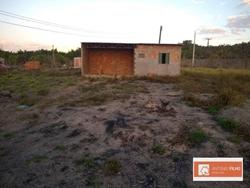 Lote à venda Condomínio Residencial São Francisco   Lote de 180 metros com Uma casa de 01 quarto inacabada na região Água Quente pertencente área do Rec