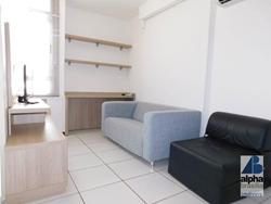 Kitnet para alugar SGCV Lote 11   Kitnet com 1 dormitório para alugar, 27 m² por R$ 1.200/mês - Park Studios - Guará/DF