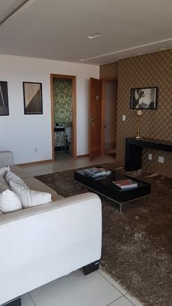 Apartamento à venda Av das Araucárias  , Península Apartamento Decorado da Construtora