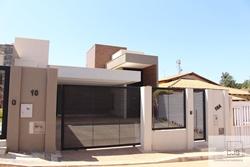 Casa à venda Rua  6 Chacará  249 CASA NOVA COM  PÉ DIREITO DUPLO C/ FACHADA MODERNA   FRENTE  COM ÓTIMA VISTA  E  ENTRADA GARAGEM NA PEDRA PORTUGUESA  + JARDIM
