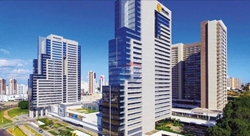 Kitnet para alugar Rua  COPAIBA   Apartamento de 1 quarto mobiliado para alugar na Rua Copaíba - Residencial DF PLAZA - Águas Claras/D