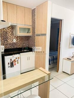 Apartamento para alugar SEPS 713/913   GOLDEN PLACE NASCENTE, VISTA LIVRE C/ 02 VGS SOLTAS