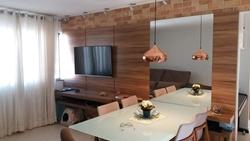 Apartamento à venda SHCES Quadra 407 Bloco G   Apartamento todo reformado