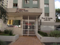 Rua  3 Norte Águas Claras   Apartamento no Residencial Real Paris com 02 quartos sendo 01 suíte e 02 vagas de garagem à venda -