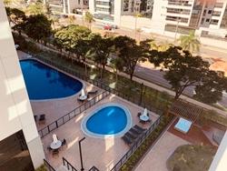 Apartamento à venda SGCV Lote 21  , ELEGANCE PARK SUL BRASÍLIA DF nascente , vista piscina , 2 vagas soltas, canto e ao lado de várias salas de cinemas e restaurantes