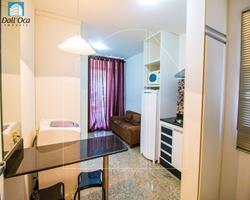 Hotel-Flat para alugar SHTN Trecho 2 Lote 3   LIFE RESORT - ÓTIMO FLAT MOBILIADO, COM VARANDA AMPLA E VISTA PARA O LAGO!