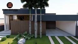 Casa à venda Condomínio Prive I Quadra 3 Conjunto F   Casa térrea, moderna, 4 suítes plenas, energia solar, área de lazer com piscina integrada à sala e à