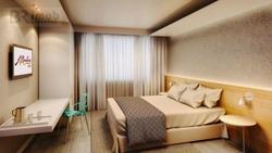 Ponto Comercial à venda Rua  PEDRO DE TOLEDO   Hotel com 1 dormitório à venda, 24 m² por R$ 490.000 - Aeroporto - Guarulhos/SP