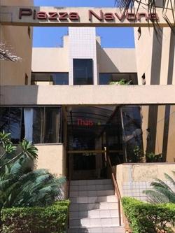 Kitnet à venda SRES Quadra 2 Bloco B   Kitnet no Piazza Navona com 01 quarto com suíte, cozinha e área de serviço à venda - Cruzeiro/DF