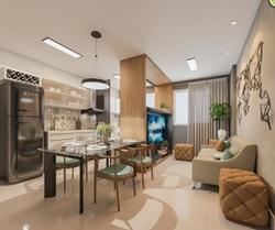 Apartamento à venda QE 38  , RESIDENCIAL GUARÁ VILLAGE Próximo a escolas, faculdades, comércio, bancos