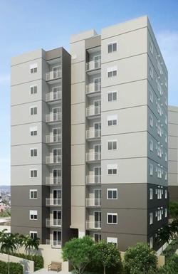 Apartamento à venda Rua  ALICE VAZAMI   Apartamento residencial para venda, Jardim Monte Alegre, Taboão da Serra - AP6515.