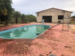 Rural à venda Ponte Alta de Cima   Chácara 25000m2 -casa com 4 dormitórios à venda, 25000 m² por R$ 600.000 - Ponte Alta - Gama/DF