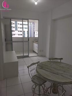 Apartamento à venda Rua  19  , Duo Residence Mall Lindo apartamento 1 quarto armários varanda gourmet andar alto