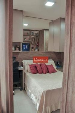 Apartamento à venda CLNW 10/11   todo planejado 1 quarto - R$ 328.000 - Noroeste - Brasília/DF