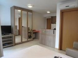 SHN Quadra 1 Asa Norte Brasília   Flat no Condomínio Saint Moritz com 01 quarto com suíte à venda,- Asa Norte - Brasília/DF
