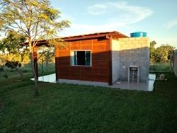 Condomínio Estancia Quintas da Alvorada Jardim Botanico Brasília   ALUGA-SE ACONCHEGANTE CHALÉ EM MADEIRA