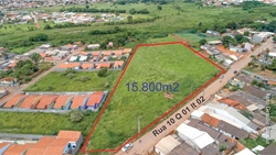 Lote à venda Rua  10   Terreno em Formosa, 15.800m² Excelente para o Minha Casa Minha Vida