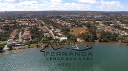 SHIN QL 10 Lago Norte Brasília LAGO NORTE LOTE VISTA LINDA DA CIDADE E DO LAGO DO 2º PAVIMENTO DA FUTURA CASA