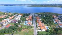 SHIN QI 14 Lago Norte Brasília LAGO NORTE  PONTA PICOLÉ COM VISTA CINEMATOGRÁFICA DO LAGO E DA CIDADE