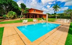 Rural à venda Area Rural   Chácara com 6 dormitórios à venda, 25.000 m² por R$ 1.000.000 - Setor Habitacional Tororó - Brasília