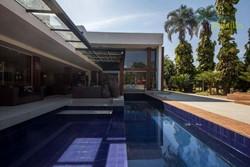 SHIS QI 5 Lago Sul Brasília   SHIS QI 05 - BELÍSSIMA casa em terreno diferenciado com 2 quadras de tênis (beach e rápida), Lago Su